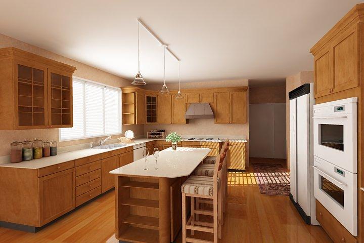 Thiết kế nội thất gia đình.